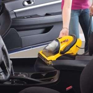 Eureka EasyClean used in a car